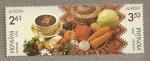 Stamps Ukraine -  Europa, Hortalizas