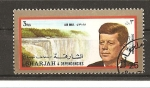 Stamps United Arab Emirates -  Kennedy.