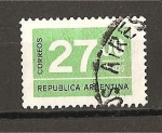 Stamps Argentina -  Cifras.