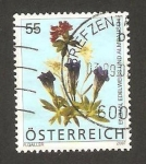 Stamps Austria -  2458 - Flor Edelweiss