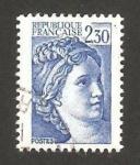 Stamps France -  2156 - Sabine de Gandon