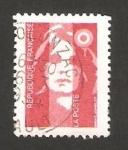 Sellos de Europa - Francia -  II centº de Marianne