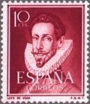 Stamps : Europe : Spain :  LITERATOS