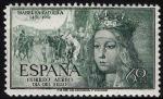 sellos de Europa - España -  1097 V Centenario del nacimiento de Isabel la Católica.
