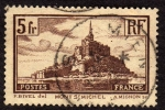 Stamps France -  Mont  St. Michel