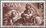 Stamps : Europe : Spain :  AÑO MUNDIAL DEL REFUGIADO
