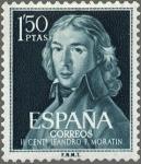 sellos de Europa - España -  IICENTENARIO DEL NACIMIENTO DE LEANDRO FERNANDEZ DE MORATIN