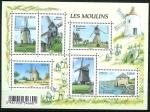 Sellos de Europa - Francia -  Los molinos