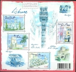 Stamps France -  Capitales europeas