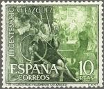 Stamps : Europe : Spain :  IIICENTERARIO DE LA MUERTE DE VELAZQUEZ