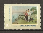 Stamps North Korea -  Actividades Revolucionarias de Kim ill Sung.