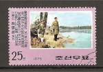 Sellos de Asia - Corea del norte -  Actividades Revolucionarias de Kim ill Sung.