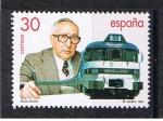 sellos de Europa - España -  Edifil  3347  Tren Talgo. Cente. del nacimiento de Alejandro Goicoechea, su inventor