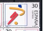 Sellos del Mundo : Europa : España : Edifil  3367  Deportes. Olímpicos de Plata