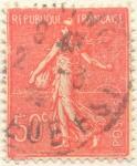 Sellos de Europa - Francia -  Republique française postes rojo