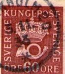 Stamps Europe - Sweden -  kungl post