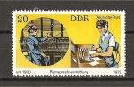Sellos de Europa - Alemania -  DDR.
