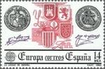 Sellos de Europa - España -  XXIII SERIE EUROPA