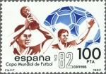 Stamps Spain -  COPA MUNDIAL DE FUTBOL ESPAÑA 82