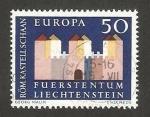 Sellos de Europa - Liechtenstein -  europa cept