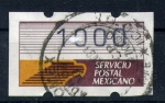 Stamps of the world : Mexico :  servicio postal mexicano