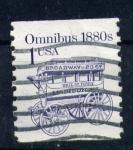 Stamps United States -  omnibus 1880