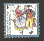Sellos de Europa - Alemania -  costumbres regionales, oberndorf