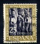 Stamps Spain -  VII exposición del consejo de europa