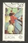 Sellos de Europa - Alemania -  690 - europa cept