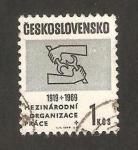 Stamps Czechoslovakia -  manos trabajando