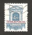 Sellos de Europa - República Checa -  116 - Arquitectura, entrada clásica