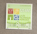 Stamps Luxembourg -  125 Aniv Liceo Técnico Agrícola