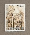 Stamps Luxembourg -  700 Aniv. de Enrique VII