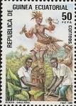 Stamps Equatorial Guinea -  Bailes y Danzas Típicas - Baile Fang