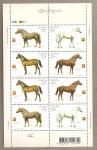 Stamps Ukraine -  Caballos