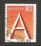 Sellos de Europa - Suiza -  sello para correo urgente