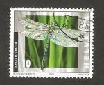 Stamps Switzerland -  1727 - insecto libélula
