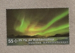 Stamps Germany -  aurora boreal