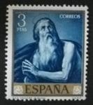 Sellos de Europa - España -  24 marzo - José de Ribera