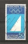 Sellos de Europa - Alemania -  Preludio de los Juegos Olimpicos de Munich.