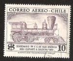 Sellos del Mundo : America : Chile : CENTENARIO PRIMER FERROCARRIL DE SUD AMERICA COPIAPO A CALDERA
