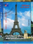 Sellos del Mundo : Africa : Madagascar : Tour Eiffel