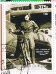Sellos del Mundo : Africa : Níger : 1937  Heroïne de l´aviation  Amelia Earhart