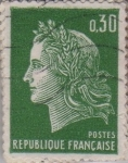 Sellos de Europa - Francia -  Mariana (de Chefler)-1967-1969