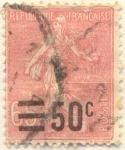 Sellos de Europa - Francia -  Republique française postes