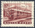 Stamps Hungary -  tranvia