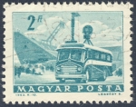 Stamps Hungary -  unidad movil