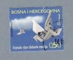 Sellos de Europa - Bosnia Herzegovina -  Papirofléxia