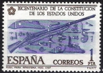Stamps Spain -  2322 Bicentenario de la Independencia de EEUU.