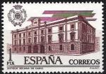 Stamps Spain -  2326 Aduanas. Antigua aduana de Cádiz.